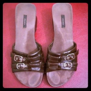 Xhilaration Wedges Size 8.5  in Brown